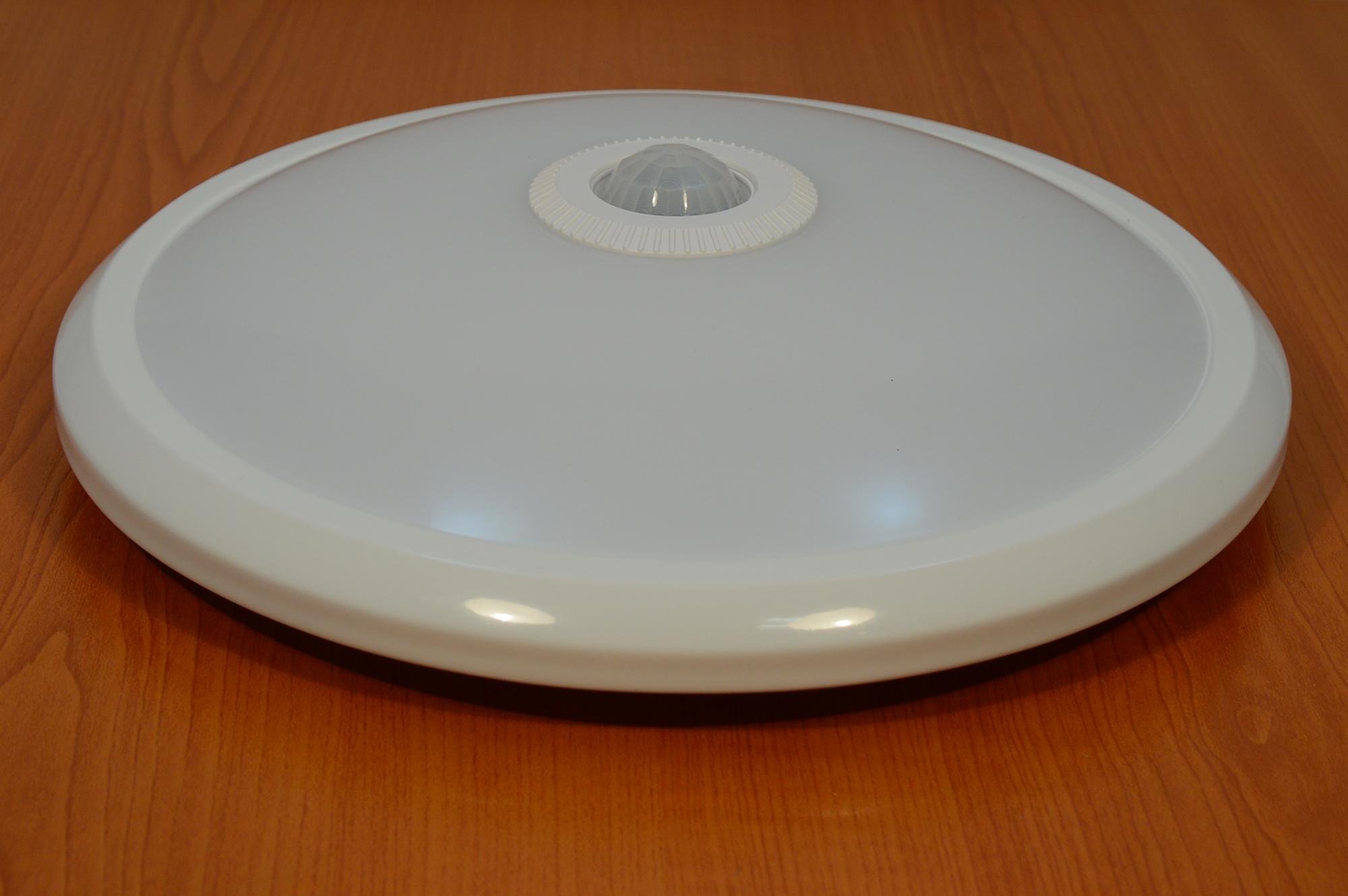 led deckenlampe mit bewegungsmelder deckenleuchte wandlampe flurleuchte 12w neu ebay. Black Bedroom Furniture Sets. Home Design Ideas