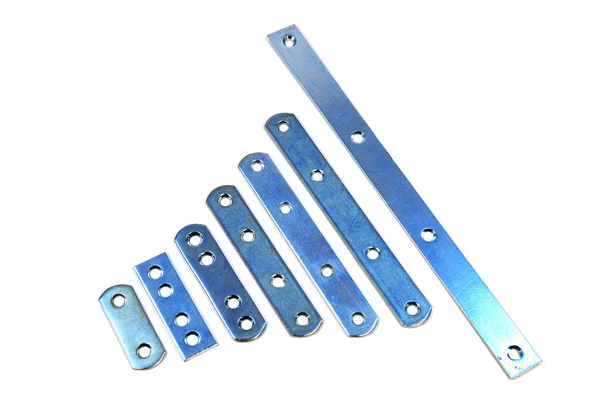 10//50//100 Flachverbinder Holzverbinder Verbindungsbleche Lochblech